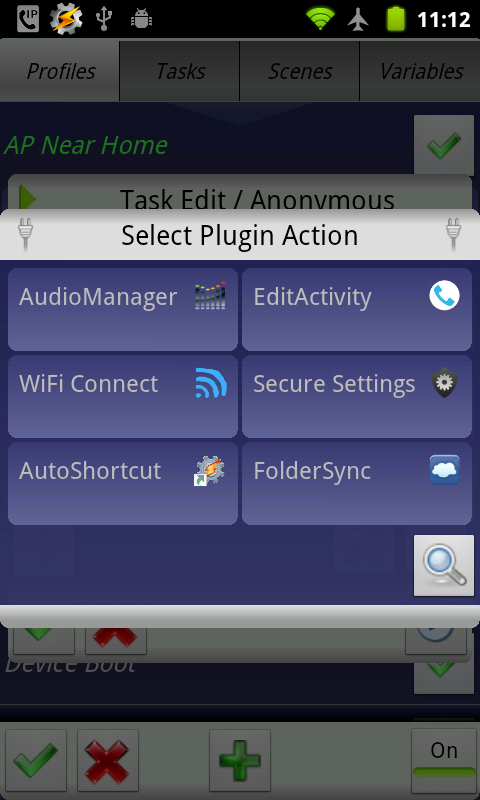 WiFi Connect for tasker- screenshot