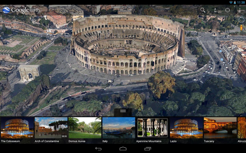 Google Earth para Android agora conta com nova tecnologia 3D 1
