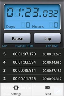 Stopwatch Pro - screenshot thumbnail