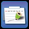 マカプリ  Multifunctional calendar icon