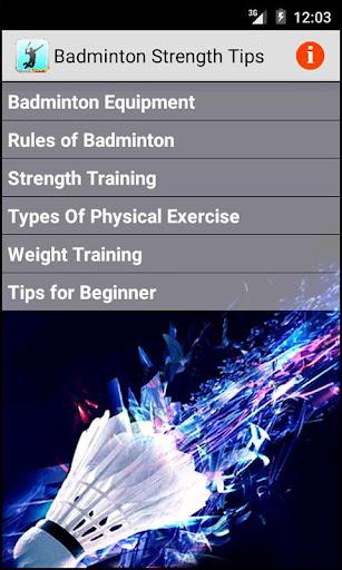 Badminton Strength Tips