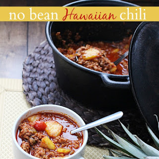 no bean Hawaiian chili