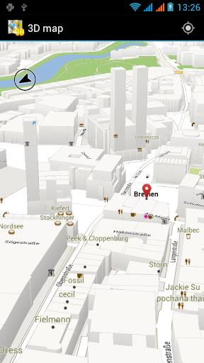 3D 地图 俄罗斯