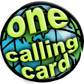 One Calling Card - phone card