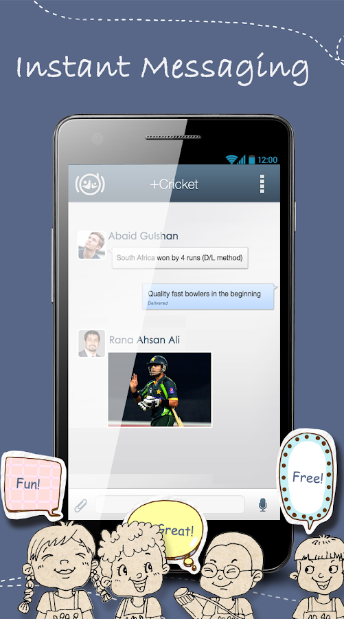 SMSall Messenger- screenshot