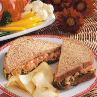 Garden Tuna Sandwiches.