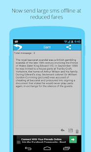 Jumbo SMS- screenshot thumbnail