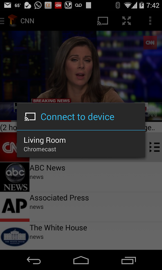TeleCast (Chromecast TV) - screenshot
