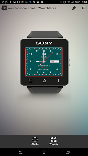 JJW Minute Watchface 4 for SW2