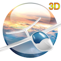 Flight in the sky 3D PRO icon