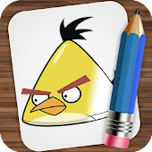 Drawing Angry Birds Seasons