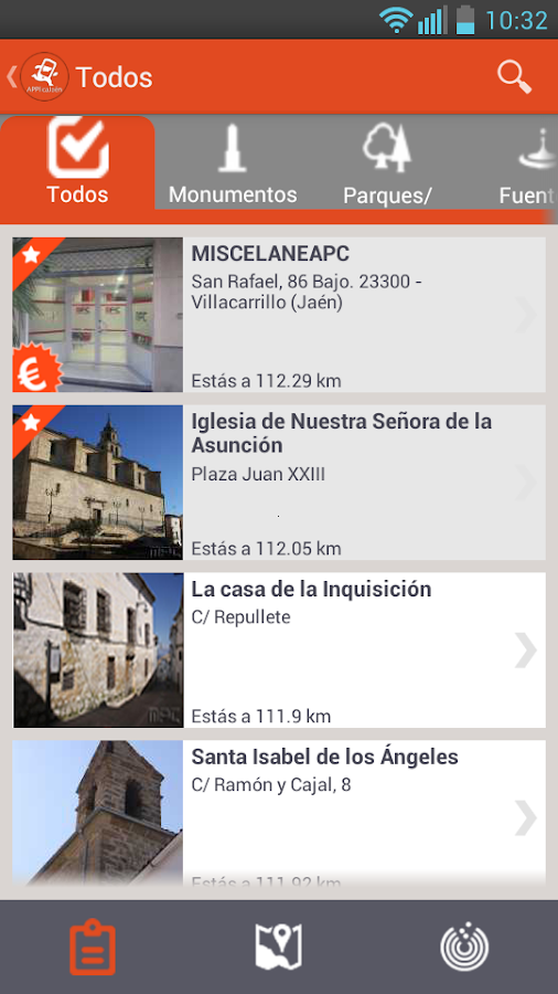 APPlicaJaen |  La guía de Jaén- screenshot