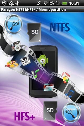 Paragon exFAT, NTFS & HFS+ - screenshot