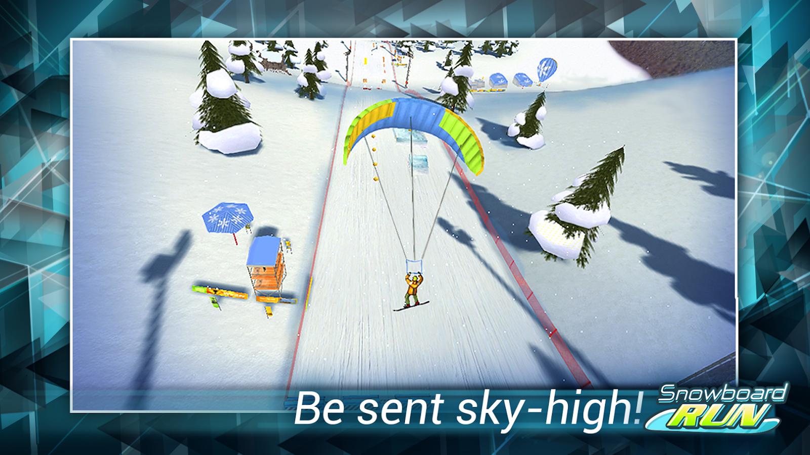 Snowboard Run - screenshot