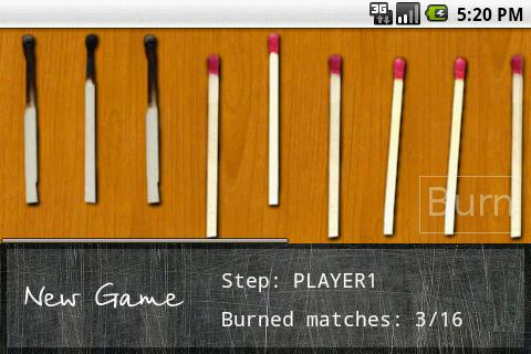 Matches- screenshot