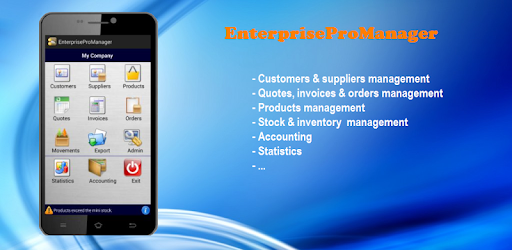 enterprise pro manager apps on google play