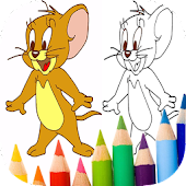 Tom and Coloring