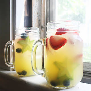 Red White and Blue Sangria.