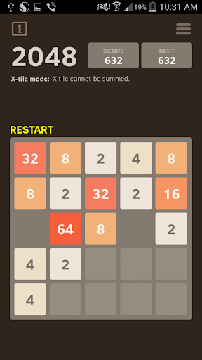2048 Number puzzle game 7.05 screenshots 2