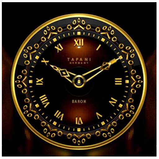Baron Luxury Clock Widget
