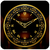Baron Luxury Clock Widget