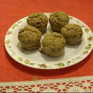 Chris's Wholemeal Raisin Muffins.