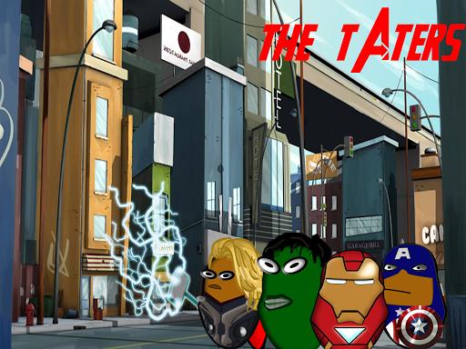 A Potato Flew Avengers