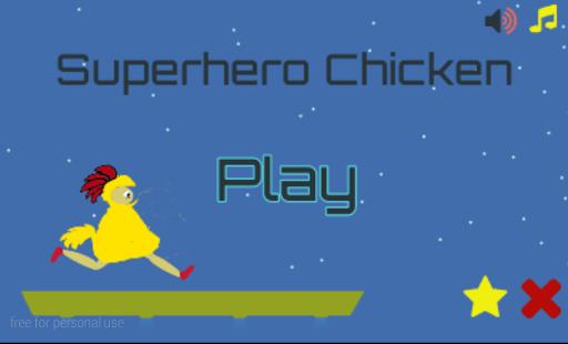 SuperHero Chicken