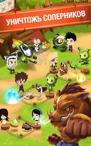 Игра Battle Camp для планшетов на Android
