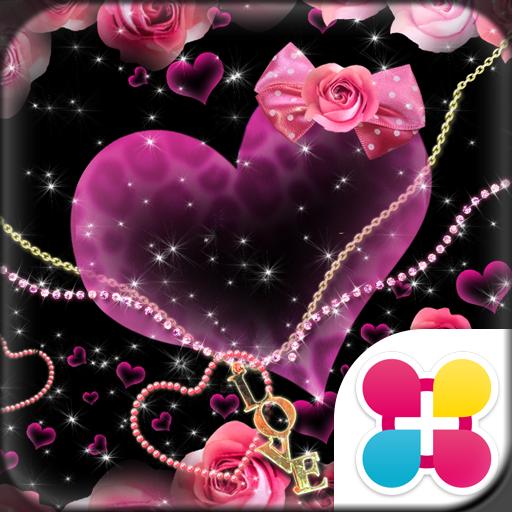Rose heart for[+]HOMEきせかえ 個人化 App LOGO-硬是要APP