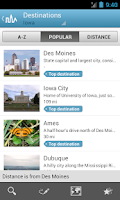 Screenshot of Iowa Travel Guide by Triposo