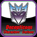 TRANSFORMERS DECEPTICONS CHAR