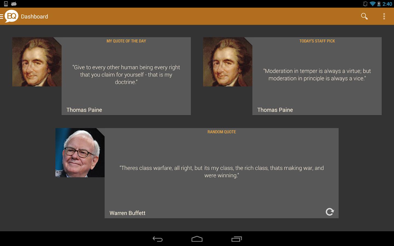 Brilliant Quotes PREMIUM - screenshot