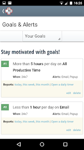 RescueTime Time Management screenshot 4
