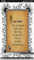 Screenshot of ŞEMS TEBRİZİ SÖZLERİ