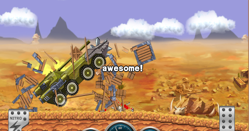 Игра Monster Dash Hill Racer для планшетов на Android