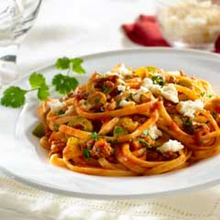 Linguine Pasta Ground Beef Recipes.