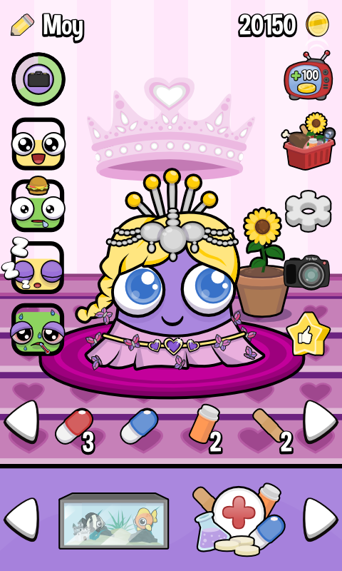 Moy 3 Virtual Pet Game Android Apps On Google Play