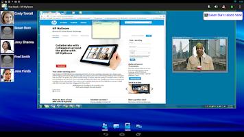 Screenshot of HP MyRoom