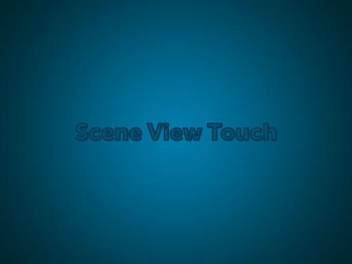 Scene View Touch