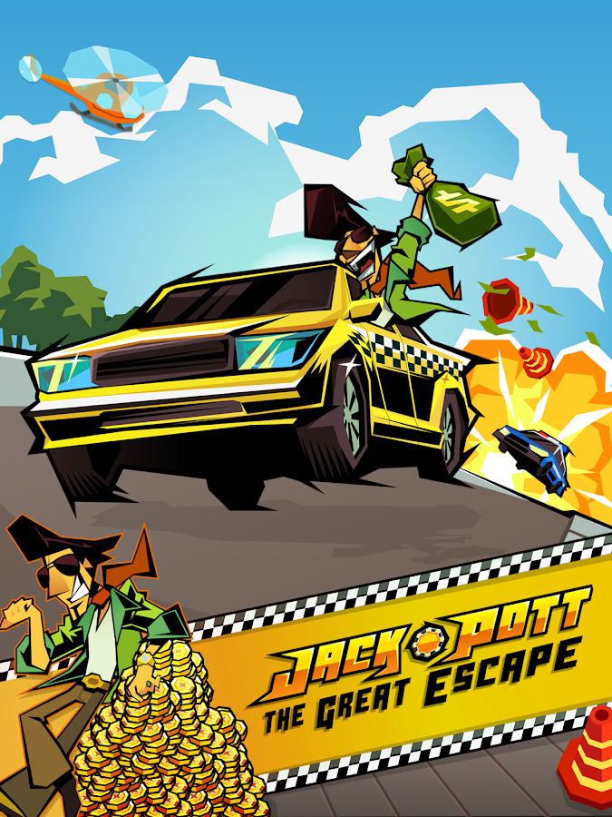 Jack Pott - Car Chase & Casino- screenshot