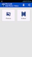 Screenshot of Pic Lock- Hide Photos & Videos
