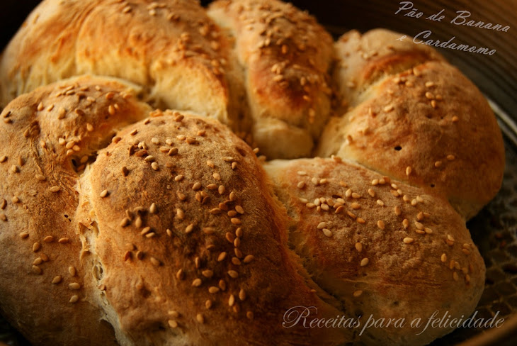 Banana Bread with Cardamom Seeds Recipe