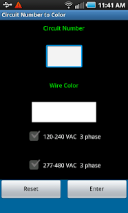Circuit Number To Color - screenshot thumbnail