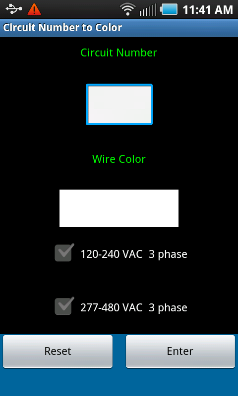 Circuit Number To Color- screenshot