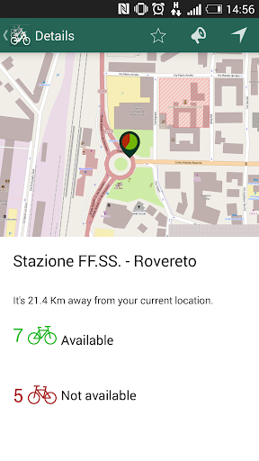 【免費交通運輸App】Rovereto Bike Sharing-APP點子