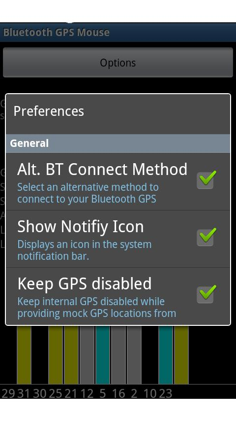 Bluetooth GPS Mouse - free - screenshot