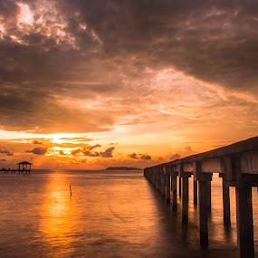 Peaceful Day  by Stephen Ckk - Landscapes Sunsets & Sunrises