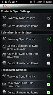 SyncRoid - Outlook Sync- screenshot thumbnail
