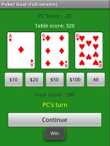 Poker Goal Full Version
